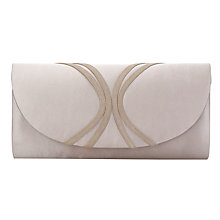 Buy Jacques Vert Piped Clutch Bag, Mid Neutral Online at johnlewis.com