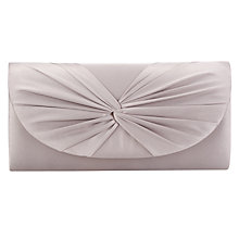 Buy Jacques Vert Petite Clutch Bag, Mid Brown Online at johnlewis.com