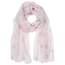 Buy Mint Velvet Candy Floss Star Print Scarf, Candy Floss Online at johnlewis.com