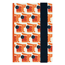 Buy Orla Kiely A5 Hardback Bunny Notebook Online at johnlewis.com