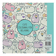 Buy Pusheen Colouring Book Online at johnlewis.com