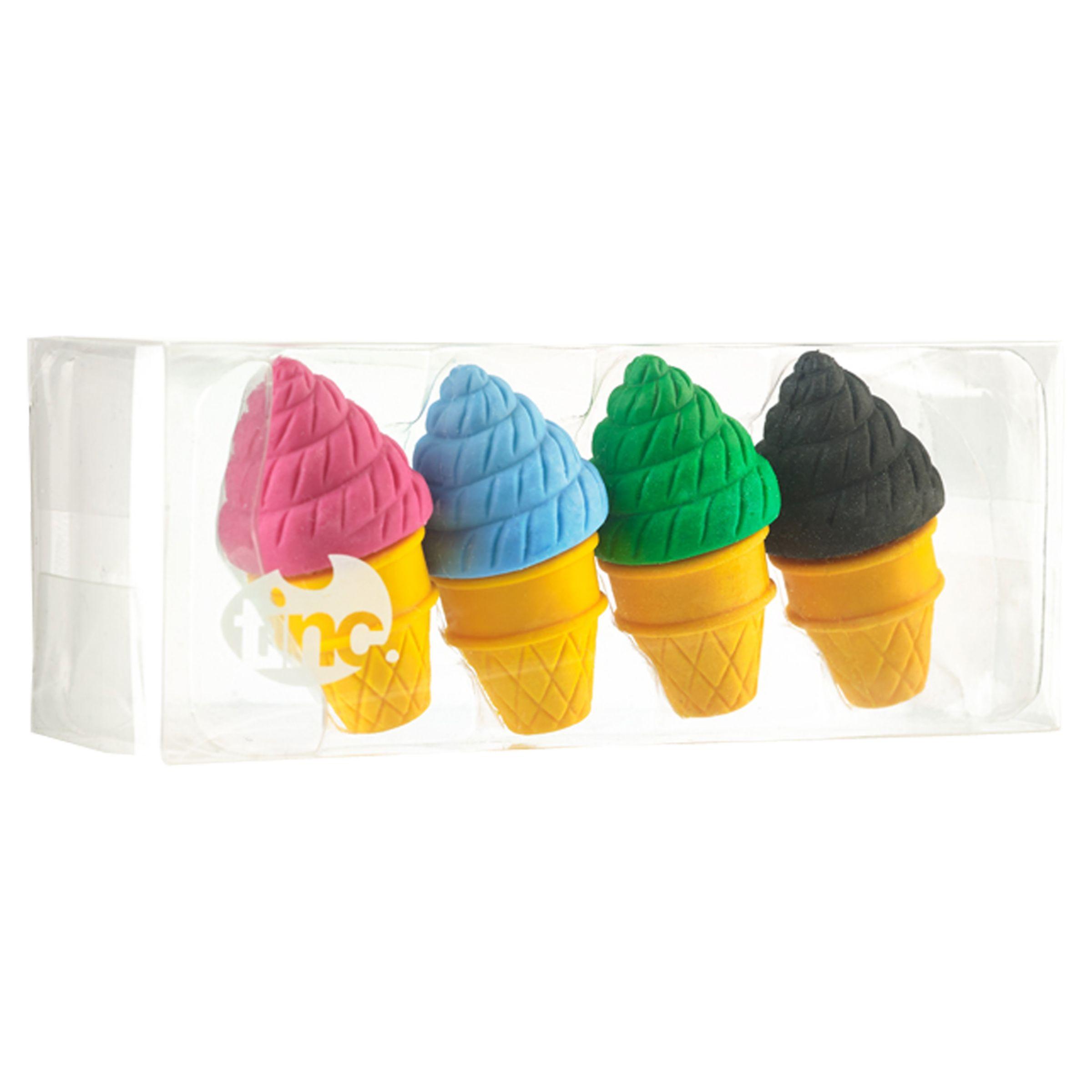 Tinc Tinc Ice Cream Eraser Collection