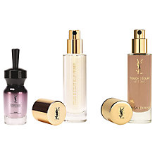 Buy Yves Saint Laurent Touche Éclat Blur Primer and Foundation BR45 with Free Gift Online at johnlewis.com