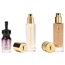 Buy Yves Saint Laurent Touche Éclat Blur Primer and Foundation BD30 with Free Gift Online at johnlewis.com
