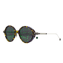 Buy Christian Dior Umbrage Round Sunglasses Online at johnlewis.com