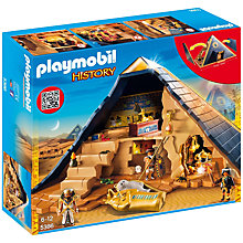 Buy Playmobil History Pharaohs Pyramid Online at johnlewis.com