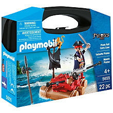 Buy Playmobil Pirate Raft Carry Case Online at johnlewis.com