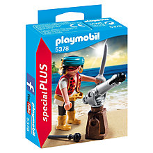 Buy Playmobil Pirate with Cannon Online at johnlewis.com