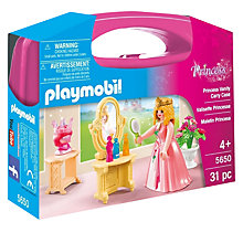 Buy Playmobil Princess Vanity Carry Case Online at johnlewis.com