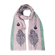 Buy White Stuff Minna Stripe Scarf, Multi Online at johnlewis.com