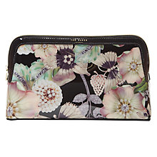 Buy Ted Baker Jooplin Gem Gardens Wash Bag, Black/Multi Online at johnlewis.com