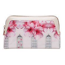 Buy Ted Baker Ayesha Window Box Makeup Bag, Baby Pink Online at johnlewis.com