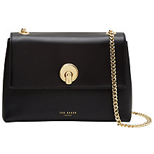 Buy Ted Baker Mihai Leather Across Body Bag Online at johnlewis.com