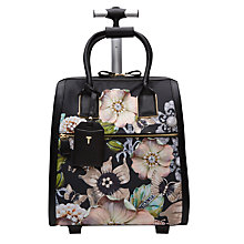 Buy Ted Baker Inez Gem Gardens Travel Bag, Black Online at johnlewis.com