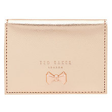 Buy Ted Baker Joeeney Oyster Card Holder, Rose Gold Online at johnlewis.com