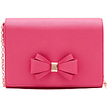 Buy Ted Baker Graciee Clutch Bag, Fuchsia Online at johnlewis.com