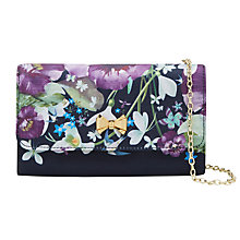 Buy Ted Baker Elliii Entangled Enchantment Clutch Bag, Navy Online at johnlewis.com