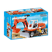 Buy Playmobil City Action Rubble Excavator Online at johnlewis.com