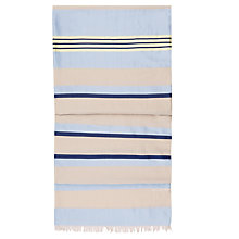Buy Hobbs Olivia Silk-Blend Scarf, Beige/Multi Online at johnlewis.com