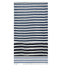 Buy Hobbs Natasha Ombre Scarf, Navy Online at johnlewis.com