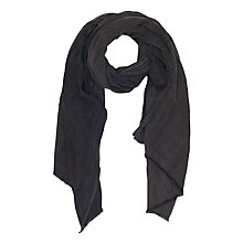 Buy French Connection Darcy Scarf, Dark Grey Denim Online at johnlewis.com