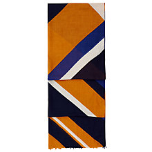 Buy Hobbs Lucille Scarf, Orange/Multi Online at johnlewis.com