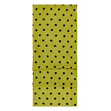 Buy Hobbs Lisa Spot Scarf, Lime Online at johnlewis.com