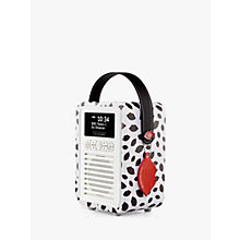 Buy VQ Retro Mini DAB/FM Bluetooth Digital Radio, Lulu Guinness Design Online at johnlewis.com
