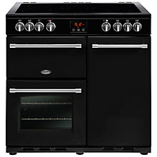 Buy Belling Farmhouse 90E Electric Range Cooker with Ceramic Hob Online at johnlewis.com