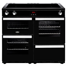 Buy Belling Cookcentre 100EI Electric Range Cooker With Induction Hob Online at johnlewis.com