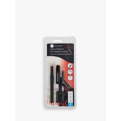 Buy Manuscript Beginner 39 S Calligraphy Set John Lewis