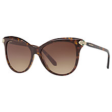 Buy Bulgari BV8188B Embellished Cat's Eye Sunglasses Online at johnlewis.com