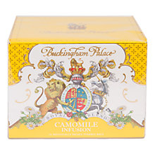 Buy Royal Collection Buckingham Palace Camomile Infused Tea, 22.5g Online at johnlewis.com
