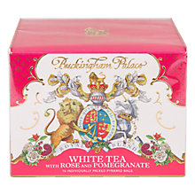 Buy Royal Collection Buckingham Palace Rose & Pomegranate Tea, 30g Online at johnlewis.com