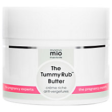Buy Mama Mio Tummy Rub Butter, 240g Online at johnlewis.com