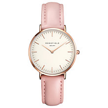 Buy ROSEFIELD Women's The Tribeca Leather Strap Watch Online at johnlewis.com