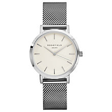 Buy ROSEFIELD Women's The Tribeca Mesh Bracelet Strap Watch Online at johnlewis.com