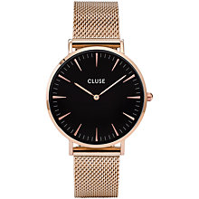Buy CLUSE Women's La Boheme Mesh Bracelet Strap Watch Online at johnlewis.com