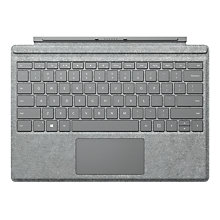 Buy Microsoft Surface Pro 4 Signature Type Cover, Grey Online at johnlewis.com