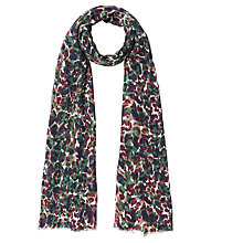 Buy Gerard Darel Frida Scarf, Dark Green Online at johnlewis.com