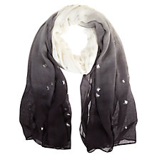 Buy Mint Velvet Veola Print Ombre Scarf, Multi Online at johnlewis.com