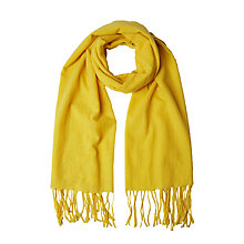Buy White Stuff Philippa Midweight Scarf, Yellow Online at johnlewis.com