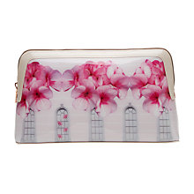 Buy Ted Baker Blythe Window Box Washbag, Baby Pink Online at johnlewis.com