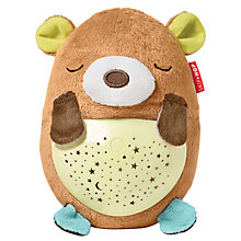 Buy Skip Hop Moonlight & Melodies Hug Me Projection Soother Bear Nightlight Online at johnlewis.com