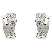 Buy Finesse Swarovski Fan Clip On Earrings Online at johnlewis.com