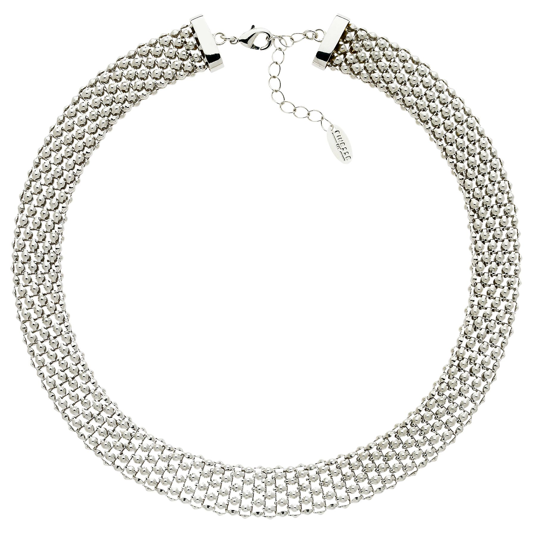 Finesse Finesse Chunky Mesh Collar Necklace