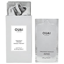 Buy OUAI Treatment Masque, 8 x 9ml Online at johnlewis.com
