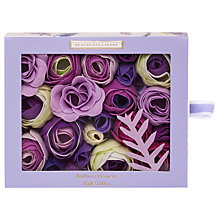 Buy Heathcote & Ivory Lavender Bathing Flowers, 85g Online at johnlewis.com