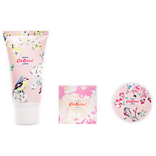 Buy Cath Kidston Blossom Bird Manicure To Go White Clove & Matcha Tea Online at johnlewis.com