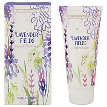 Buy Heathcote & Ivory Lavender Fields Hand & Nail Cream, 100ml Online at johnlewis.com